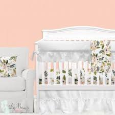 Floral Crib Bedding Sets Baby Floral Bedding Flower Crib Bedding Sets