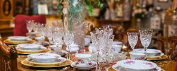 Elegant Table Settings 8 Elegant Thanksgiving And Holiday Table Settings High Street Dfw