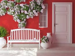 Colors For Front Doors House Exterior With Bench And Entrance White Front Door Choosing