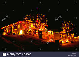 Christmas Lights For House by House Decorated With Lights For Christmas St Paul Minnesota Usa