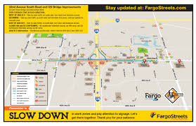 Map Of Fargo The City Of Fargo 32nd Avenue Reconstruction Project