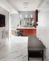 White Contemporary Bathrooms 5 Contemporary Bathrooms With Niche U0027s Pharos Handmade Pendant Light