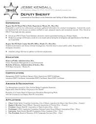 Police Chief Resume Examples by Wondrous Police Resume Examples 5 Resume Example Resume Example