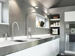 Modern Italian Kitchen Design by Sink U0026 Faucet Wonderful White Grey Wood Stainless Cool Design