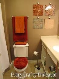 decorating ideas for bathroom walls 15 easy diy wall ideas you ll fall in with