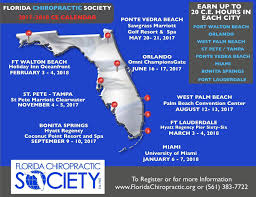 Fort Walton Beach Map Florida Chiropractic Society Fcs Online Newsletter