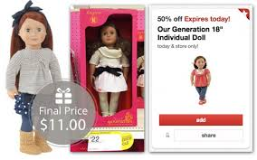 krazy coupon lady target black friday our generation doll only 11 00 at target the krazy coupon lady