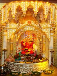 siddhivinayak at home it is made of thermocol its is one o u2026 flickr