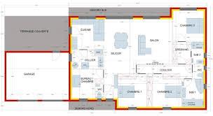 plan maison 6 chambres plain pied plan maison plain pied 4 chambres 150m2 inspirant plan maison 6