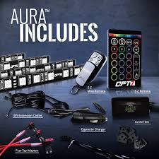 lexus is250 interior fuse box amazon com opt7 aura smart color led strip interior lighting kit