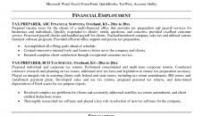 professional resume exle resume templates tax professional resume sle accountant preparer