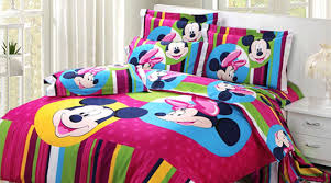 disney minnie mouse bedding set decoration
