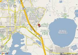 map of kissimmee map of universal resorts kissimmee villas kissimmee