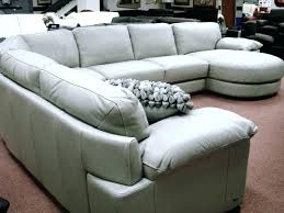 Leather Sectional Sofas Sale Macys Leather Sectional Leather 4 Sectional Sofa One Arm