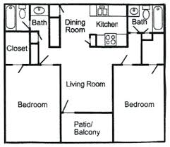 two bedroom two bath apartment floor plans decoration two bedroom bath apartment floor plans good 2