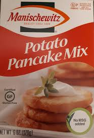 potato pancake mix manischewitz search results for mixes gluten free and