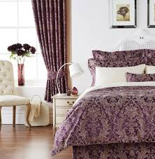 Bed Back Design Bedroom Stylish Polyester Bedroom Curtain Ideas With Brown And