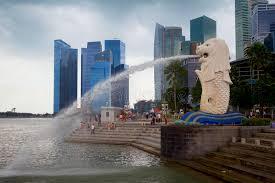 singapore lion singapore the lion city editorial photography image of