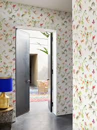 Wallpaper For Living Room Wallpaper Birds Of Paradise Designed For Living