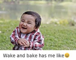Wake N Bake Meme - wake and bake has me like baked meme on esmemes com