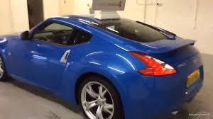 nissan 370z for sale uk nissan 370z v6 gt blue 2011 youtube