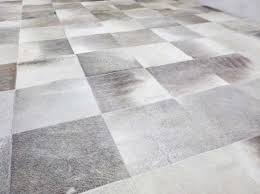 Patchwork Cowhide Custom Project Gray Patchwork Cowhide Rugs In Squares Shine Rugs