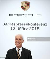 porsche ceo porsche ag presents 2014 financial results photos and images