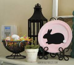 Easter Decorations On Mantel by My Almost Easter Mantel Or The Rustic Easter Decor On My Hutch