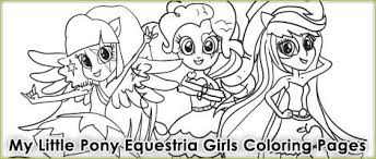 pony coloring pages equestria girls rainbow rocks