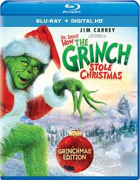amazon com dr seuss u0027 how the grinch stole christmas blu ray