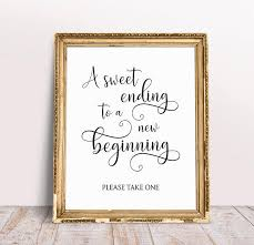 wedding quotes new beginnings a sweet ending to a new beginning wedding quotes wedding