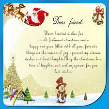 dear friend warm wishes for an old fashion christmas merry