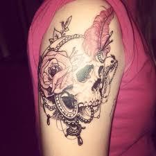 94 womens skull tattoos sugar skull explore