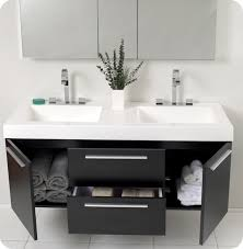 modern bathroom vanities with mirror