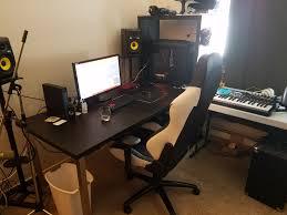 Ikea Recording Studio Desk by Omega District Studio Reveal Omega District