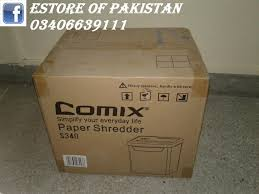 personal paper shredder cross cut model comix s340 price in pa