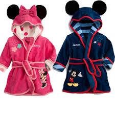 robe de chambre bébé garçon robe de chambre mickey fashion designs