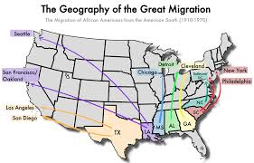 Map Of The United States During The Civil War by The Great Migration The African American Exodus From The South
