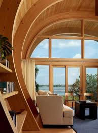 organic guest house with curved glulam pine beams u2013 casey key