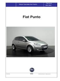 fiat grande punto service manual translated airbag loudspeaker