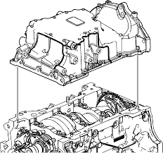 repair instructions off vehicle oil pan removal 2008 gmc