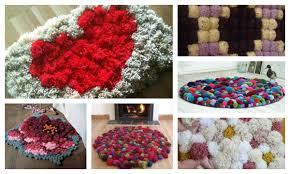 how to make a diy pom pom rug