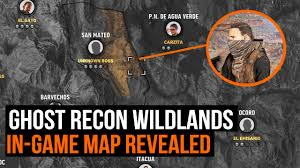 The Ghost Map Ghost Recon Wildlands How Big Is The Map In Game Map Revealed