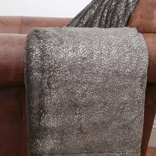 Faux Fur Throw Pillow Jase Metallic Seal Faux Fur Throw Everyone Needs A Little