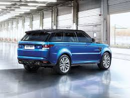 range rover back 2015 land rover range rover sport svr rear photo estoril blue