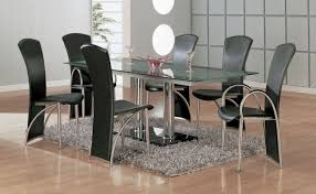 7 modern dining room sets with stunning metal dining tables