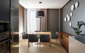 The Circular Dining Room by A Pair Of Stylish Apartments That Put Their Extra Rooms To Good Use