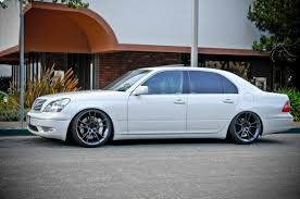 slammed lexus ls430 budget build project43 world u0027s first matte white ls430 ls14