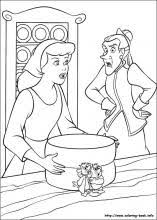 cinderella coloring pages coloring book