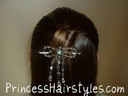 knotted half ponytail hairstyle hairstyles for girls princess